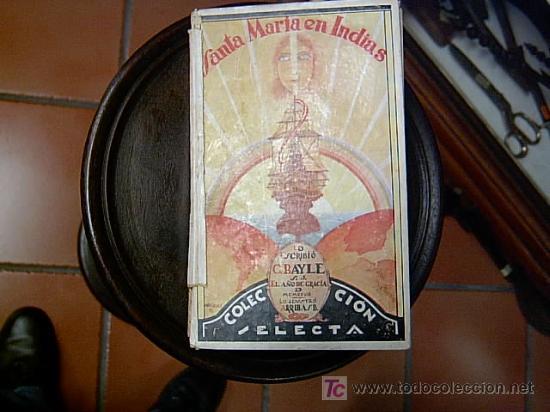 SANTA MARIA EN INDIAS - ADVOCACIONES RELIGIOSAS DESCUBRIMIENTOS EN AMERICA (Libros Antiguos, Raros y Curiosos - Religión)