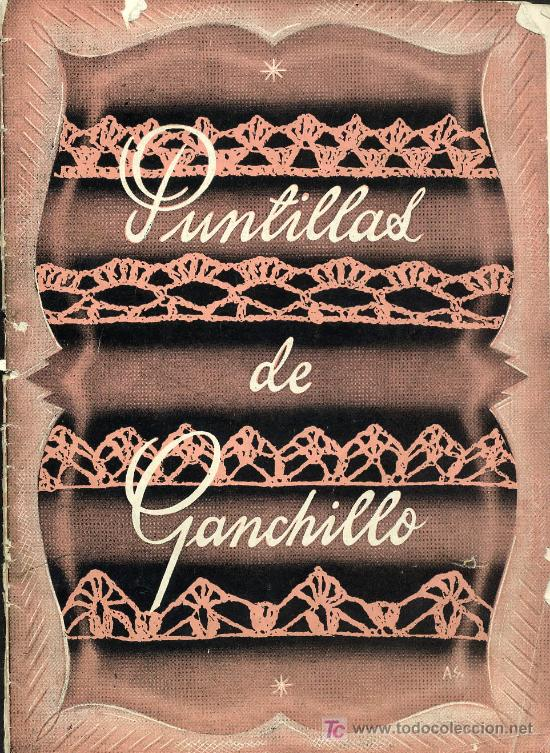 ALBUM DE PUNTILLAS DE GANCHILLO (Papel - Revistas y Periódicos ...