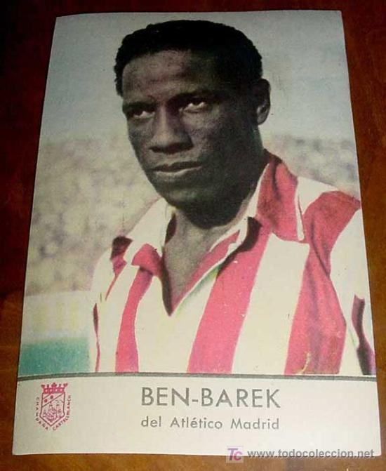 Ben Barek se convierte en el jugador más veterano en marcar un gol con el Club Atlético de Madrid (35 años y 307 d.). - 3742615