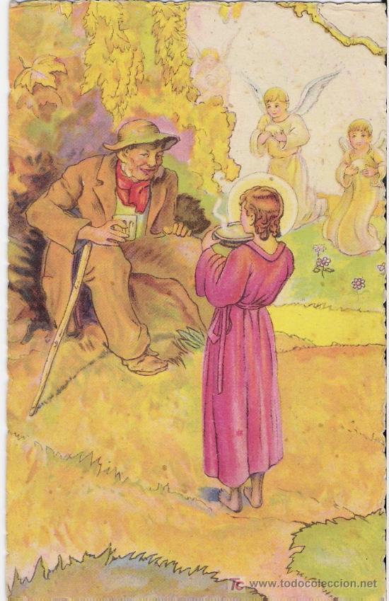 OBRAS DE MISERICORDIA Nº 1 (Postales - Dibujos y Caricaturas)