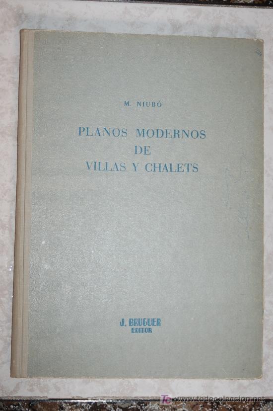Planos modernos de villas y chalets niubo comprar otros for Planos de chalets modernos