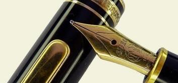 Estilográficas antiguas, bolígrafos y plumas