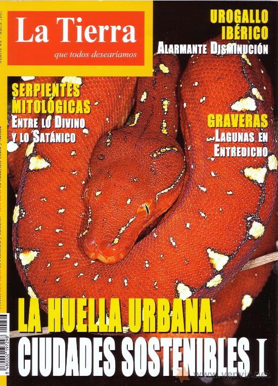 REVISTA LA TIERRA QUE TODOS DESEARIAMOS - NUMERO 46 - MARZO 2002 - SERPIENTES (Papel - Revistas y Periódicos Modernos (a partir de 1.940))