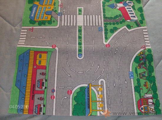 Alfombra circuito de coches en ciudad comprar varios en - Alfombra circuito coches ...