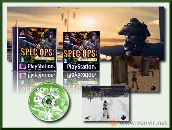 SPEC OPS: STEALTH PATROL - JUEGO PARA PLAYSTATION 1 - PS2 Y PS3 PAL