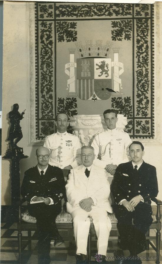 Fotografía Capitán Barberán y el Teniente Collar (Vuelo Cuatro Vientos)