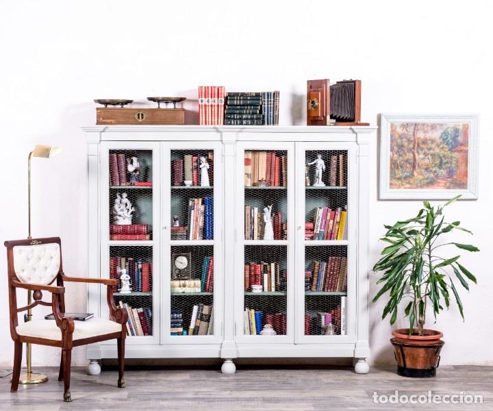 Ideas de decoración 2020: librería antigua