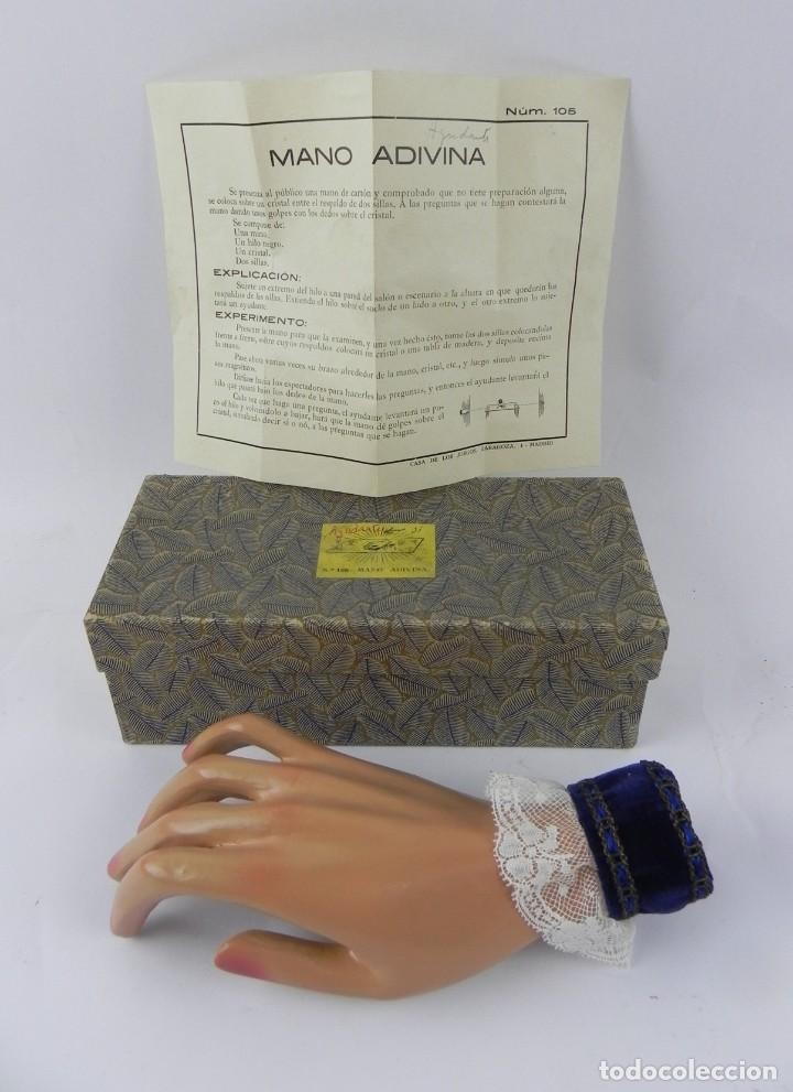 Juego de magia La mano adivina