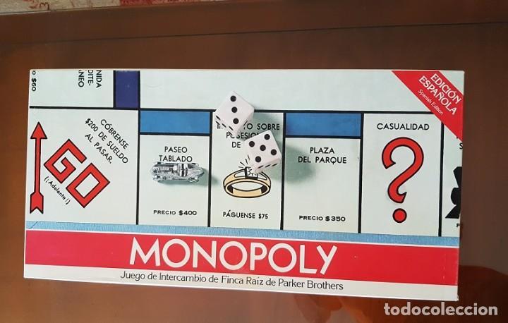 Juego popular de los 80 Monopoly