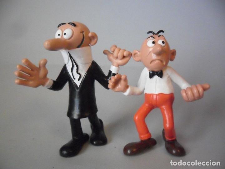 Figuras de Mortadelo y Filemón
