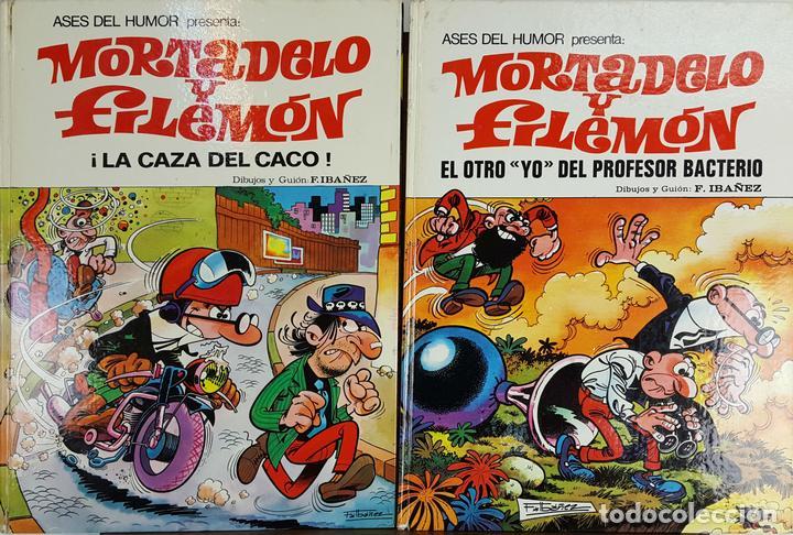 Tebeos de Mortadelo y Filemón