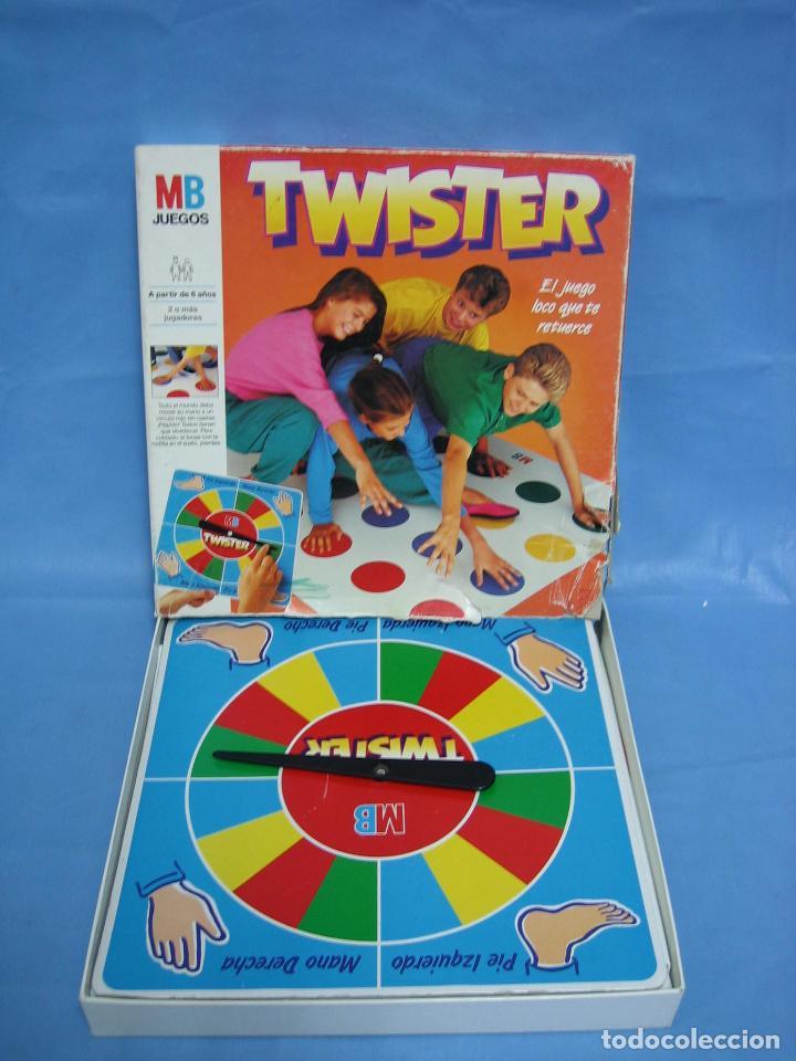 Juego popular de los 80: Twister